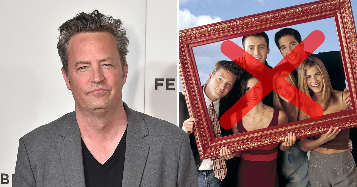 Matthew Perry has a recurring nightmare about a Friends reunion that nobody cares about – so he won't go back