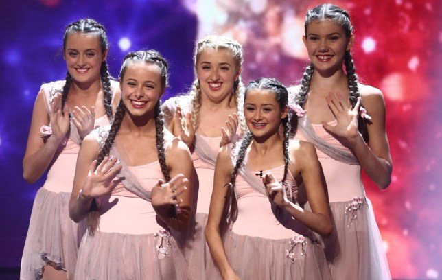 *** MANDATORY BYLINE TO READ: Syco / Thames / Dymond ***<BR /> Britain's Got Talent - 1 June 2017 <P> Pictured: Merseygirls <B>Ref: SPL1511452 010617 </B><BR /> Picture by: Syco / Thames / Dymond<BR /> </P><P>