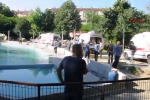 Five dead after being electrocuted at water park in Turkey