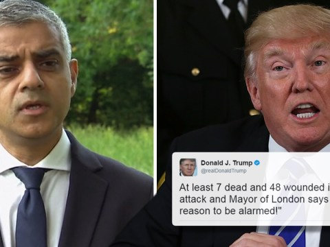 Sadiq Khan has 'more important things to do' than respond to Donald Trump