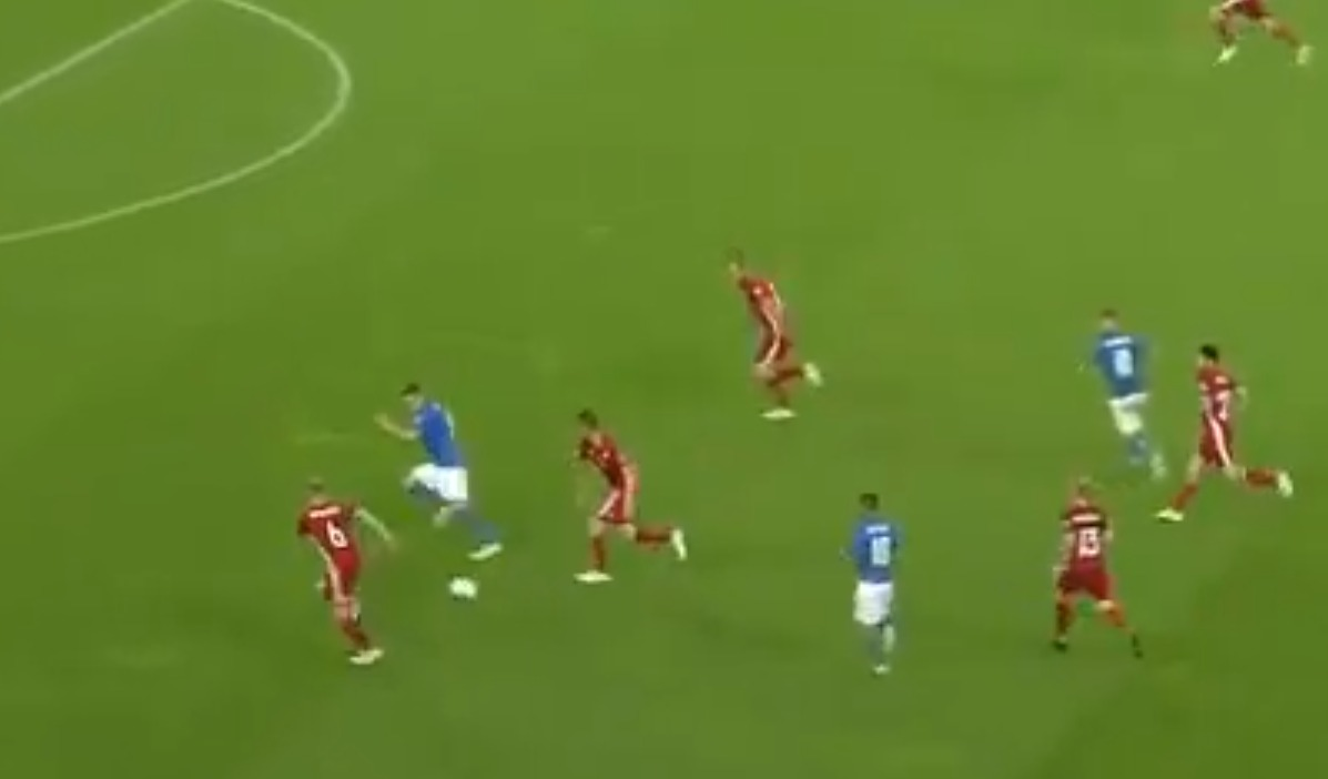 Andrea Belotti sends message to Manchester United with brilliant goal and assist for Italy
