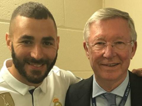 Karim Benzema sends brilliant 'Fergie time' message to Sir Alex Ferguson after Champions League triumph