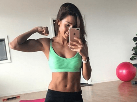 Kayla Itsines says that she cried with nerves the first time she ever used a gym