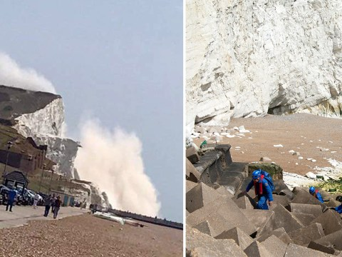 Major search operation launched following second cliff collapse on beach in under 24 hours