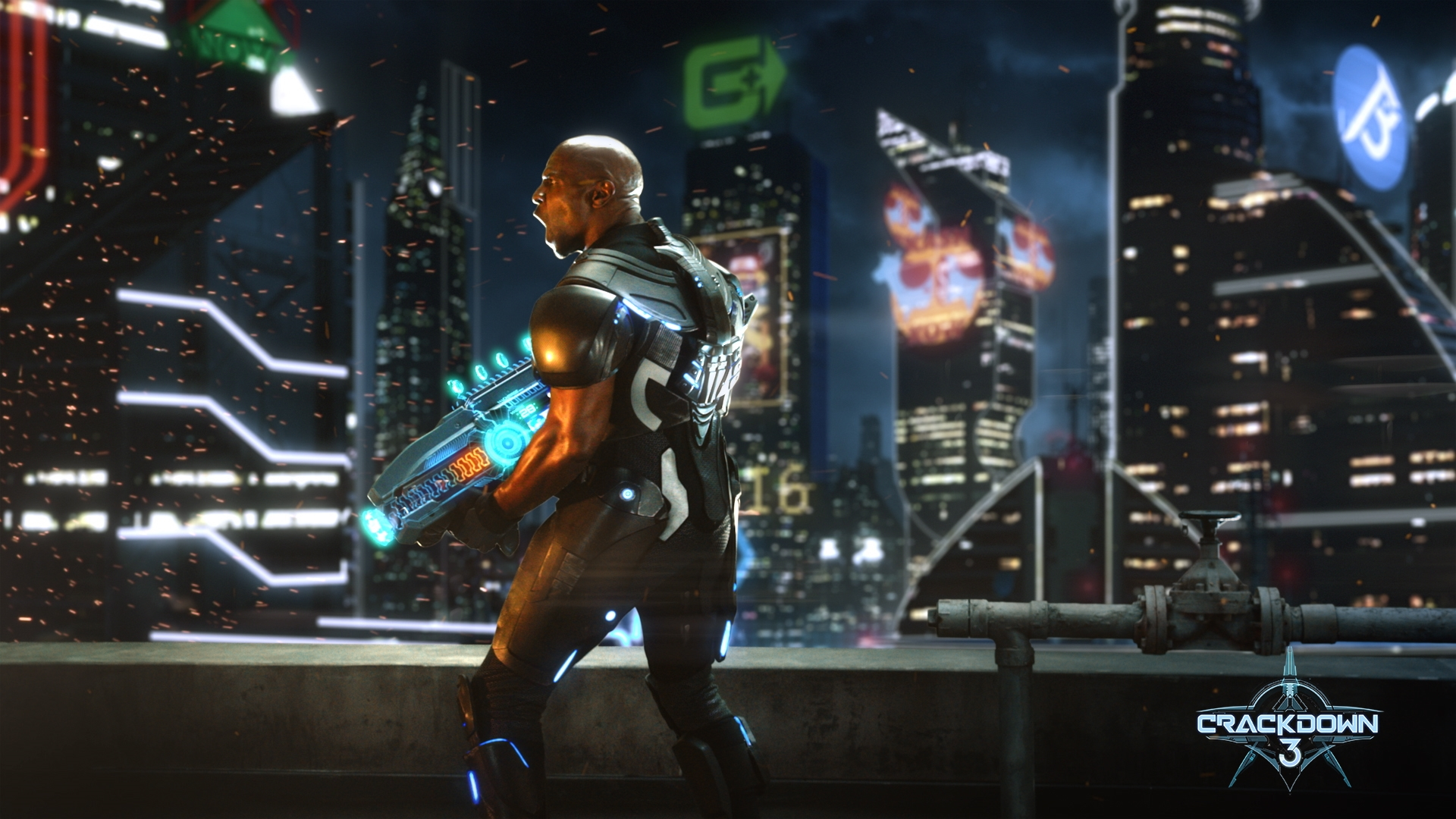 Crackdown 3 hands-on preview and interview – launching the Xbox One X