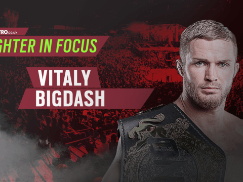 Fighter In Focus: Unbeaten Russian middleweight and ONE champion Vitaly Bigdash