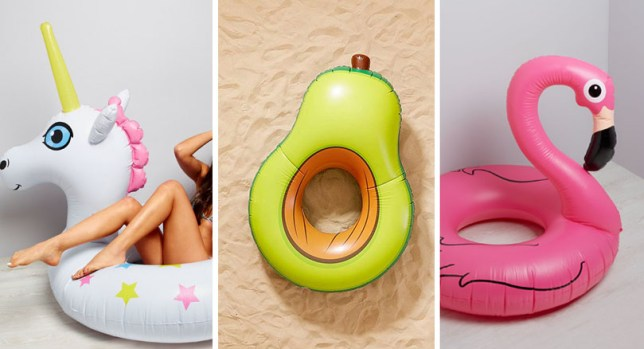 Pool floats feature