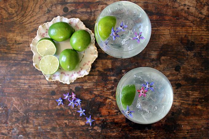 Gin Rickey by Veggie Desserts
