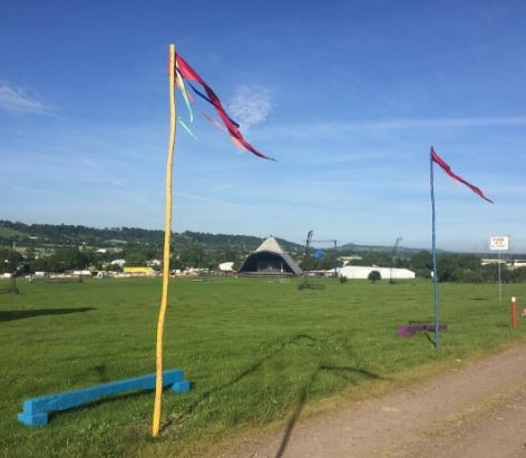 The Glastonbury site is looking good just a week before it opens