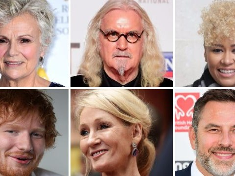 Julie Walters becomes a Dame and Ed Sheeran earns himself an MBE in Queens birthday Honours list