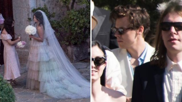 Pixie Geldof 'turns up to her star-studded wedding ceremony two hours behind schedule'