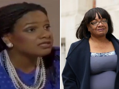 Diane Abbott tweets video of herself from 1987 to hit back at trolls and critics