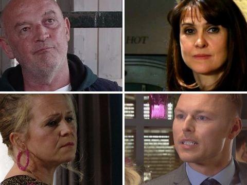 25 soap spoilers: Phelan and Emma caught in Corrie and Emmerdale, 4 EastEnders return, Hollyoaks horror, Casualty clash