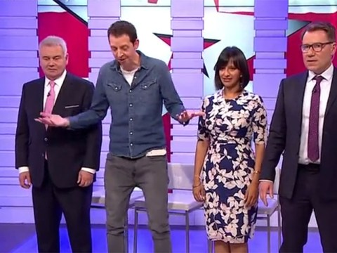 Britain's Got Talent's Jonny Awsum teaches the GMB hosts some moves as he teases act details