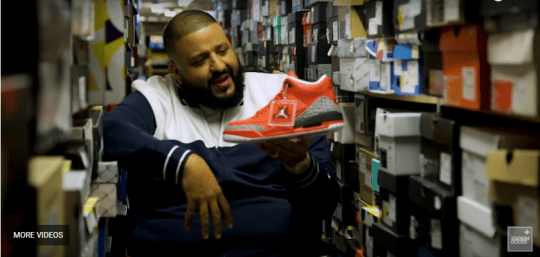 check out 0d243 194bf DJ Khaled swaps beats for soles and unveils his special edition Air Jordan   Grateful 3  trainers