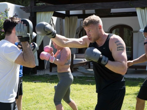 Freddie Flintoff puts himself through gruelling regime to get back in shape