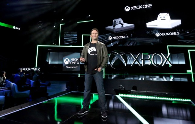 Phil Spencer and his new console