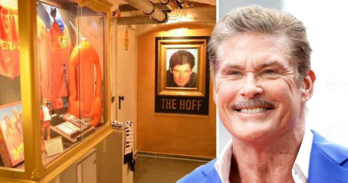 You can stay in the world's first hostel with a shrine to the Hoff blessed by David Hasselhoff himself