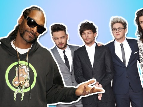 Snoop Dogg thinks One Direction should get back together while they're still young