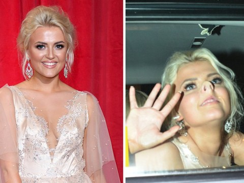 Coronation Street's Lucy Fallon had the time of her life at the British Soap Awards and we love it