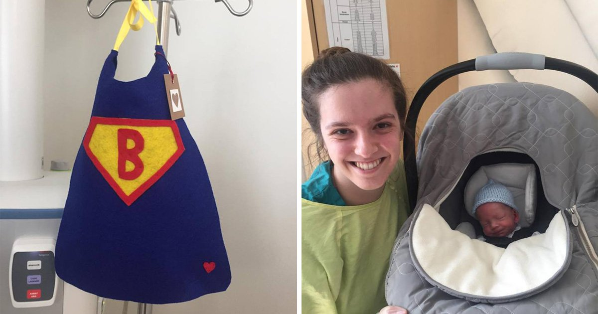 A nurse in Canada is making tiny superhero capes for premature babiesand it's too much