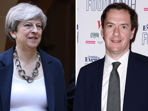 George Osborne calls Theresa May a 'dead woman walking'