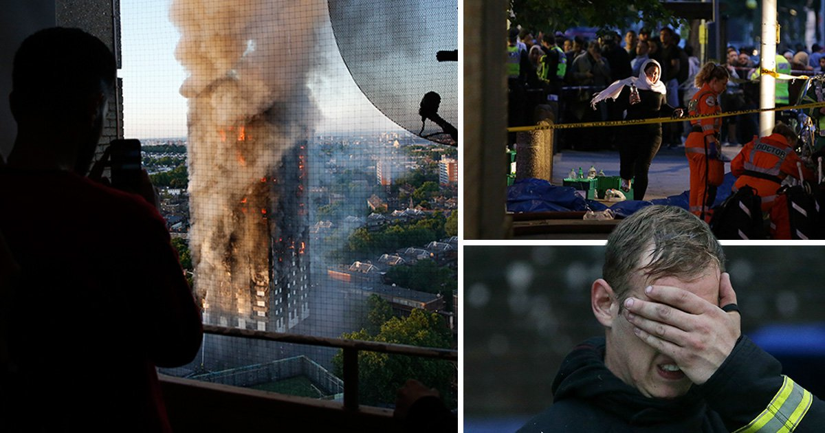 Witnesses describe the horror of Grenfell Tower fire