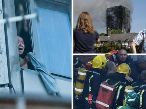 Blind pensioner rescued from Grenfell Tower after using jumper as an SOS flag