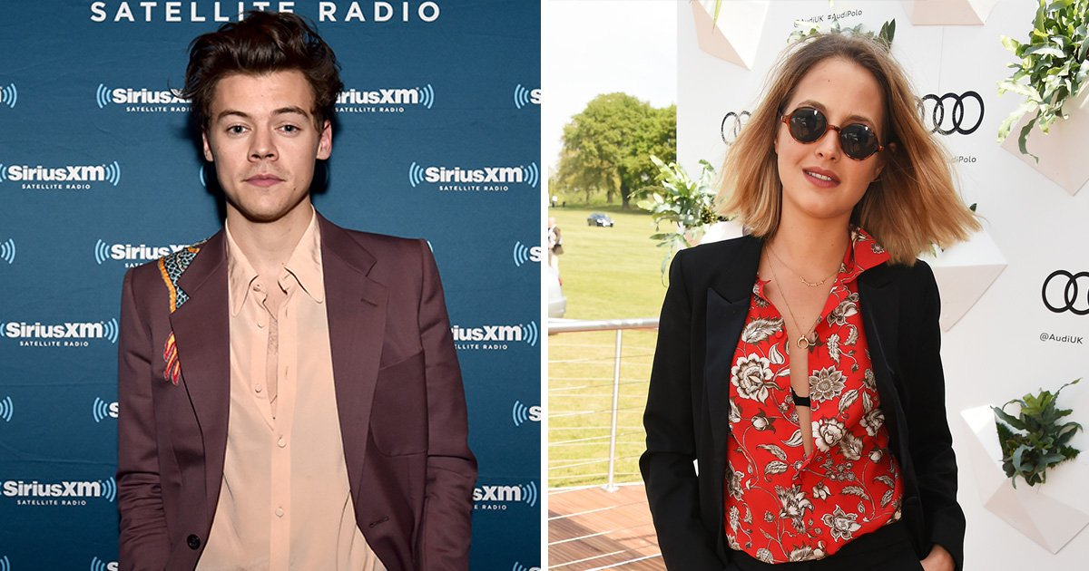 Harry Styles' food blogger lover Tess Ward is already 'back with her ex-boyfriend following break-up'