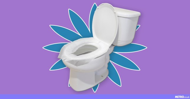 Awesome Toilet Seat Covers Are Being Used As Skin Blotters Metro News Alphanode Cool Chair Designs And Ideas Alphanodeonline