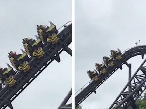 Riders stuck for 45 minutes after Alton Towers' Smiler ride breaks down