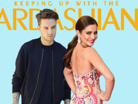 Cheryl is watching Keeping Up With The Kardashians and Liam isn't too happy