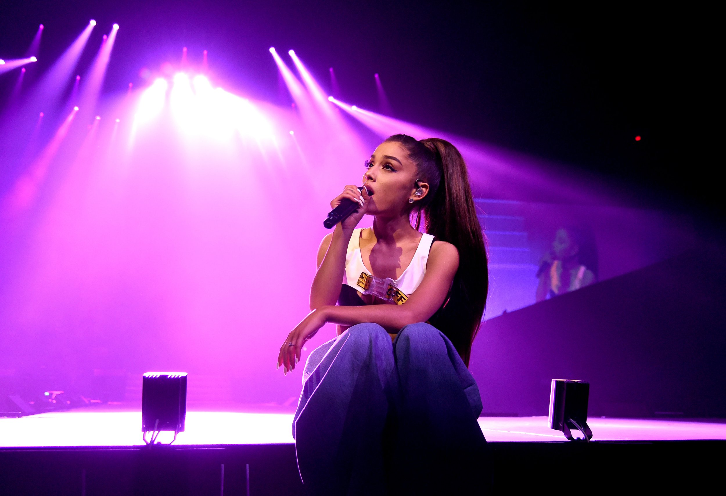 Ariana Grande's dedicated fans are already camping outside the One Love Manchester venue