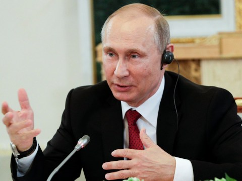 Vladimir Putin denies Russia hacked US elections