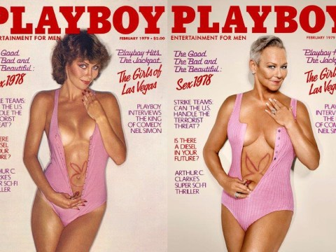 Former playmates are re-creating their iconic Playboy covers and they're amazing