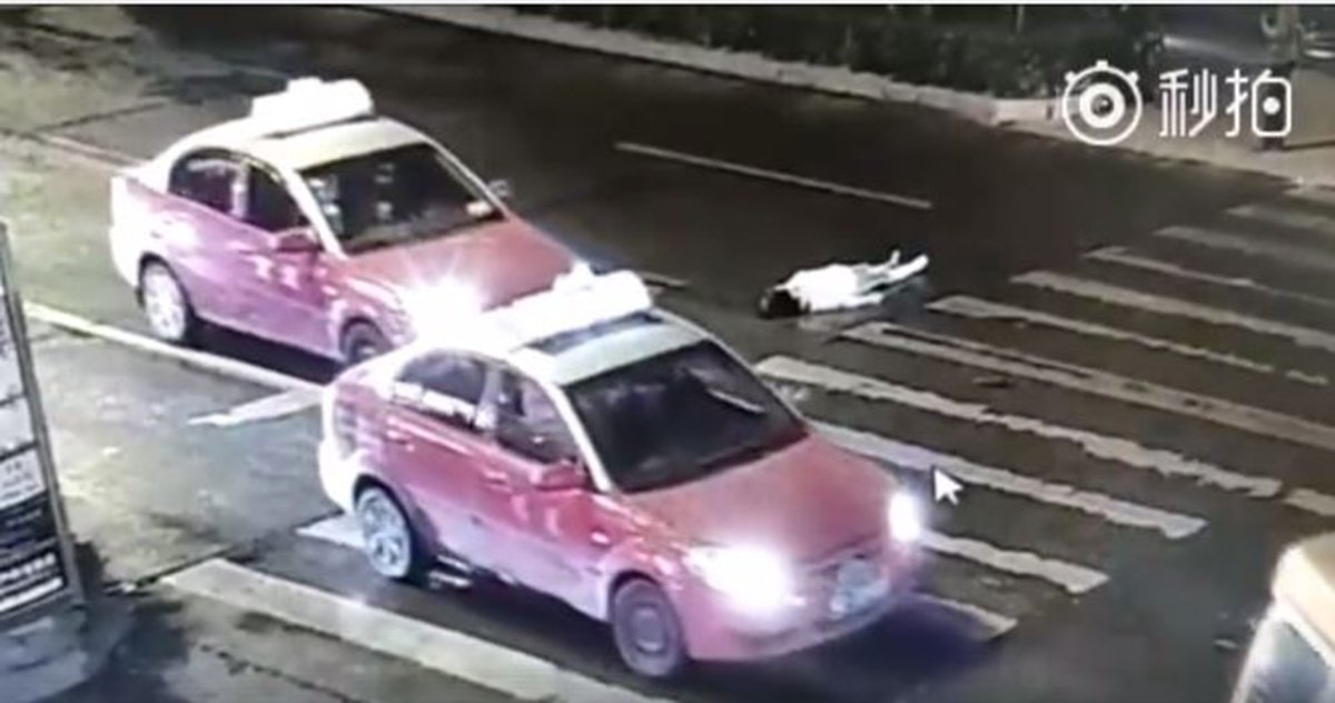 Woman run over twice and killed after no one stopped to help her