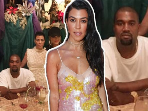 Kourtney Kardashian wishes Kanye West a happy birthday and it backfires