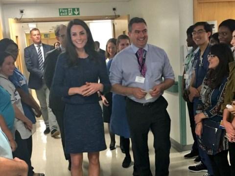 Duchess of Cambridge pays impromptu visit to London Bridge terror victims