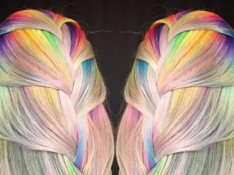 This colourist creates amazing technicolor hairstyles