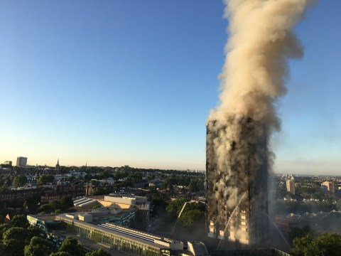 What should you do in a fire in a tower block? Fire Brigade advice is 'stay in'