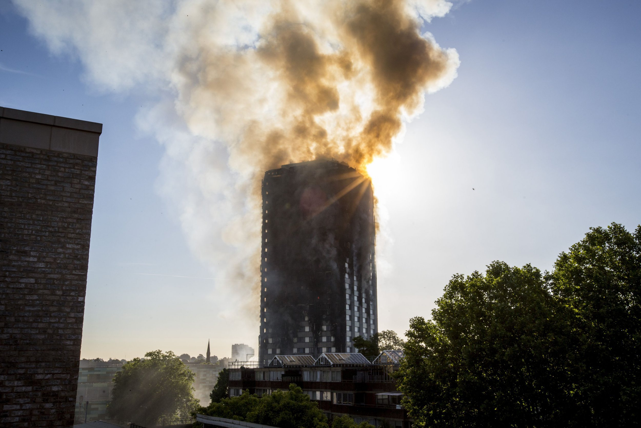 Hope for residents in Grenfell Tower fire who were awake late for Ramadan