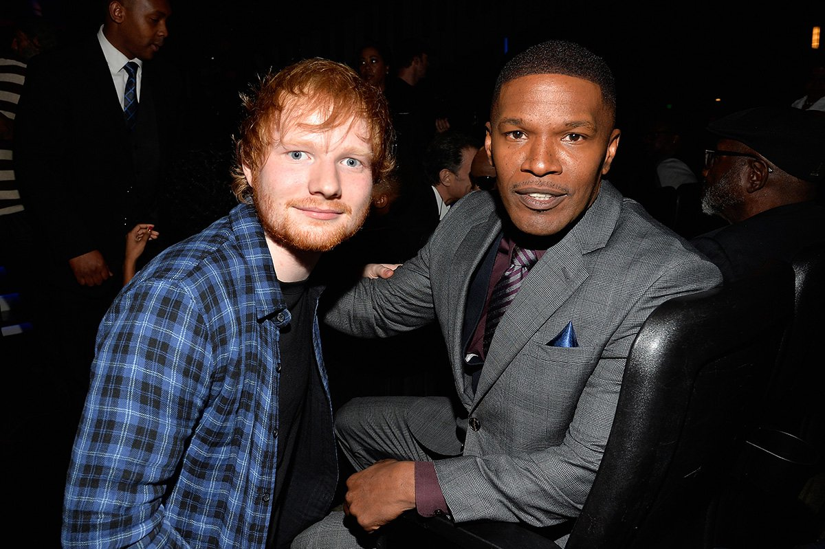 Jamie Foxx used to feed Ed Sheeran and let him sleep on his sofa before he got famous