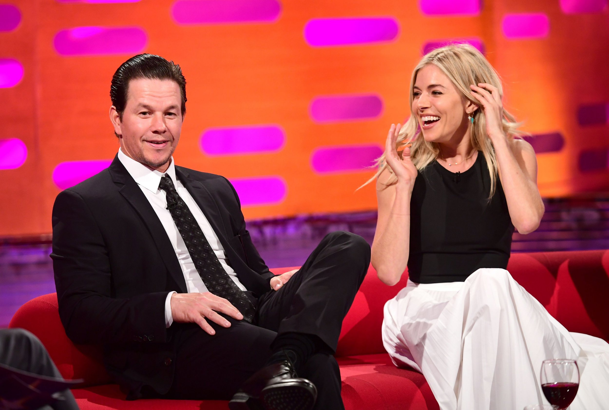 'I lactated all over him': Sienna Miller talks about the awkward time she leaked breast milk over Mark Wahlberg