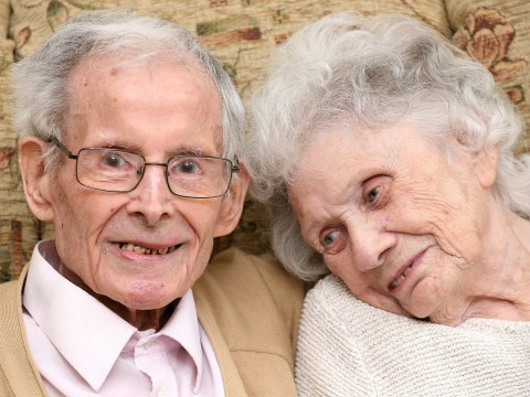 Britain's longest-married couple have been reunited for their 80th wedding anniversary