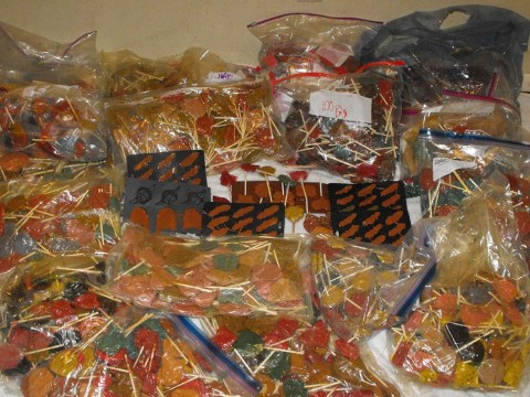 Police seize $1million of meth-laced lollipops in the shape of Star Wars characters