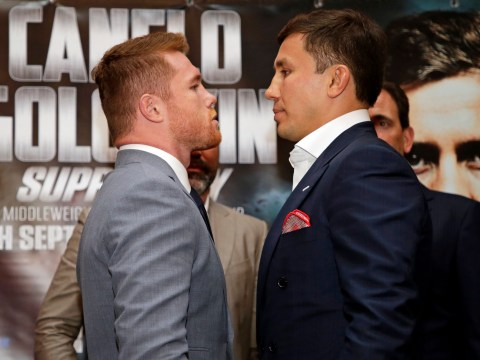 Anthony Joshua, Floyd Mayweather & more predict winner of Gennedy Golovkin vs Canelo Alvarez