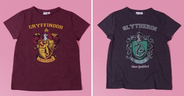 0eabd7b566 Sort yourself into a Hogwarts House with Primark s new Harry Potter ...