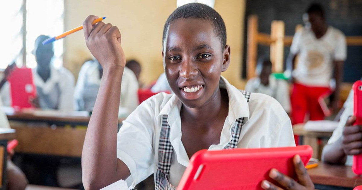 How the Vodafone Foundation tech is helping girls in Africa get an education with technology Picture: Sala Lewis