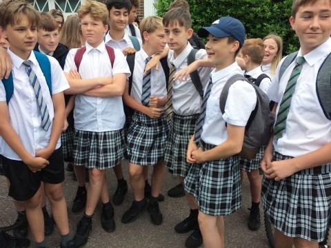 Let's scrap gender uniform lists and let men and boys wear skirts