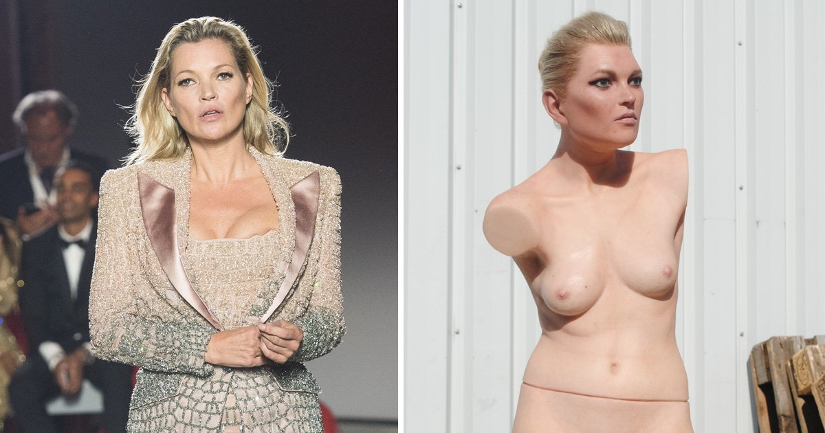 Kate Moss immortalised into naked limbless sculpture named 'MILF' that costs £25,000